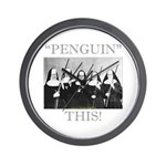 Penguin This Wall Clock