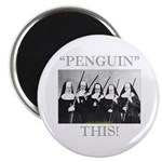 Penguin This Magnet