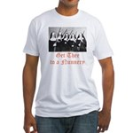 Get Thee to a Nunnery Fitted T-Shirt