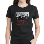 Light Your Candle Women's Dark T-Shirt