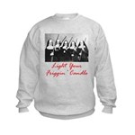 Light Your Candle Kids Sweatshirt