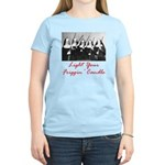 Light Your Candle Women's Light T-Shirt
