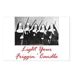 Light Your Candle Postcards (Package of 8)