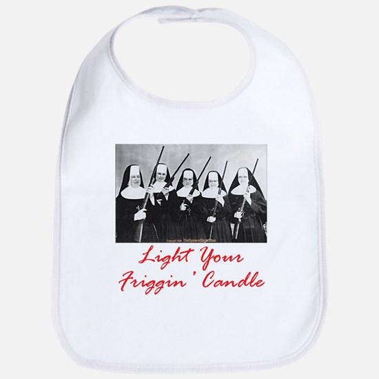 Light Your Candle Bib