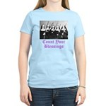 Count Your Blessings Women's Light T-Shirt