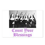 Count Your Blessings Postcards (Package of 8)