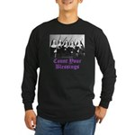 Count Your Blessings Long Sleeve Dark T-Shirt