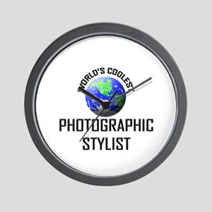 World's Coolest PHOTOGRAPHIC STYLIST Wall Clock