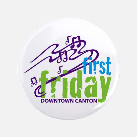 """Canton First Friday 3.5"""" Button (10 pack)"""