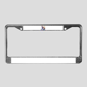 DJ For Life License Plate Frame