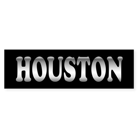Houston Bumper Sticker