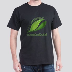 Eco Friendly Trinidadian County Desig Dark T-Shirt