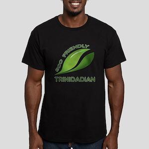 Eco Friendly Trinidadi Men's Fitted T-Shirt (dark)