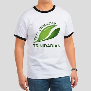 Eco Friendly Trinidadian County Designs Ringer T