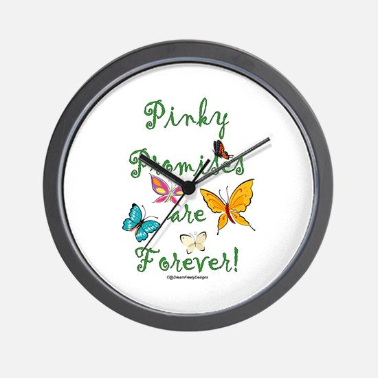 Pinky Promises Wall Clock