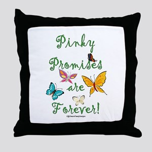 Pinky Promises Throw Pillow