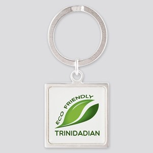 Eco Friendly Trinidadian County De Square Keychain