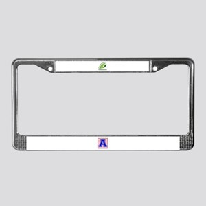 Eco Friendly Trinidadian Count License Plate Frame