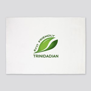 Eco Friendly Trinidadian County Des 5'x7'Area Rug