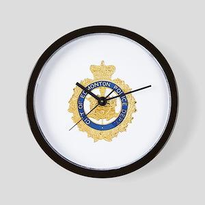 Edmonton Police Wall Clock
