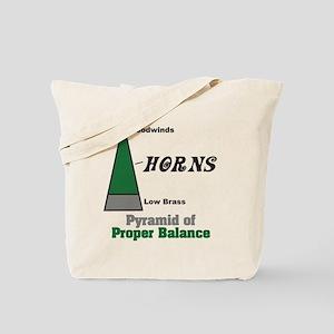 Proper Balance Tote Bag