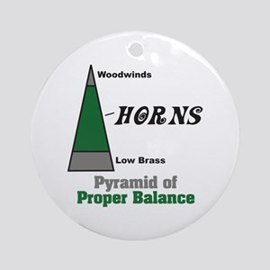 Proper Balance Ornament (Round)
