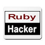 Ruby Hacker Mousepad