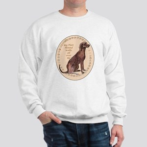 plott hound walks Sweatshirt