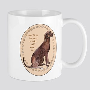plott hound walks Mug