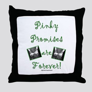 Pinky Promises Throw Pillow