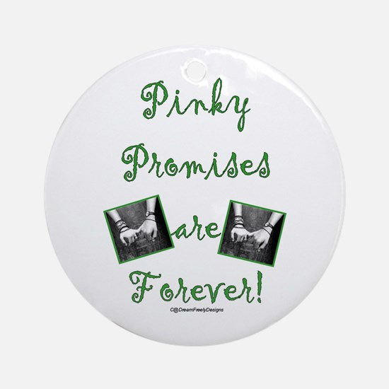 Pinky Promises Ornament (Round)