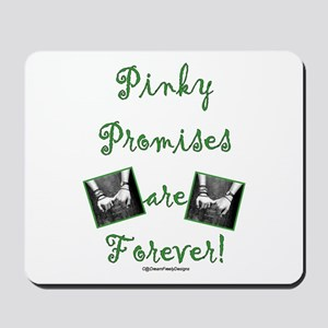 Pinky Promises Mousepad