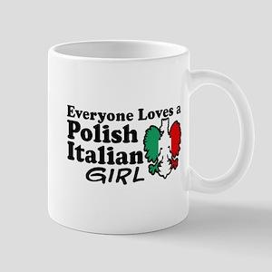 Polish Italian Girl Mug