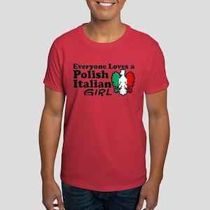 Polish Italian Girl Dark T-Shirt