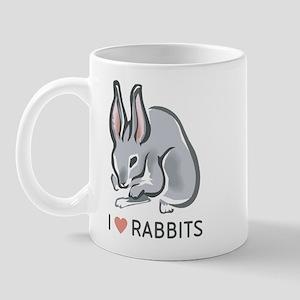 I Love Rabbits Mug