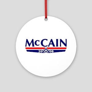 McCain 2008 Ornament (Round)