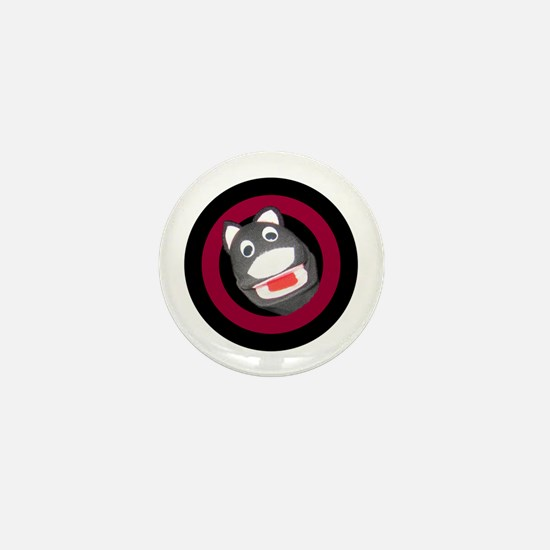 Sock Puppet Mini Button