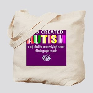 Autism passion Tote Bag