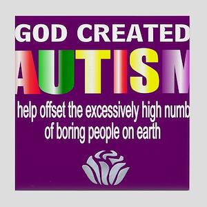 Autism passion Tile Coaster