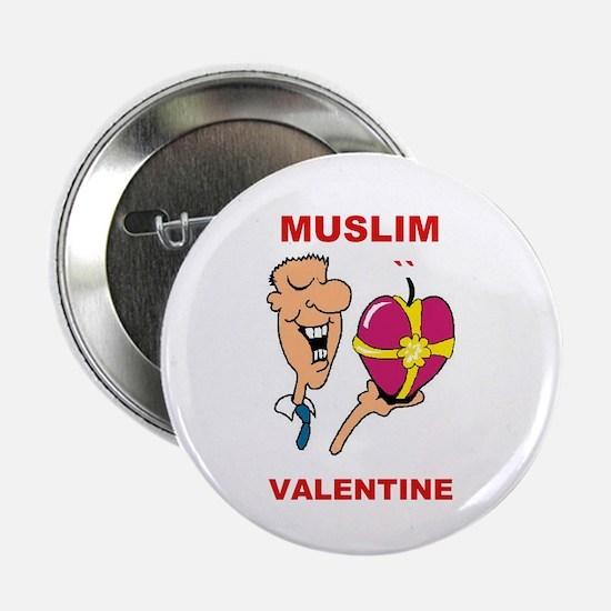 """MUSLIM VALENTINE 2.25"""" Button"""