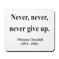 Winston Churchill 3 Mousepad