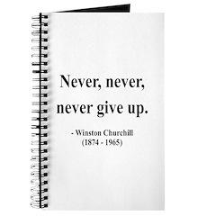 Winston Churchill 3 Journal