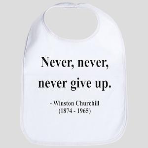 Winston Churchill 3 Bib