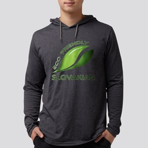 Eco Friendly Slovakian County De Mens Hooded Shirt