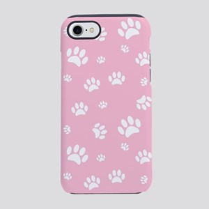 Paw Prints iPhone 8/7 Tough Case