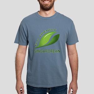Eco Friendly Singaporean Mens Comfort Colors Shirt