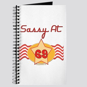 Sassy At 69 Years Journal