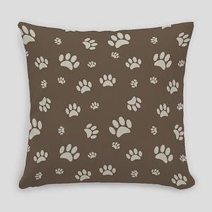 Paw Prints Everyday Pillow