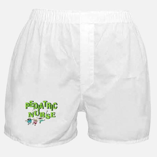 Pediatric Nurse Boxer Shorts