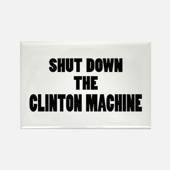 Anti-Hillary Clinton T-shirts Rectangle Magnet